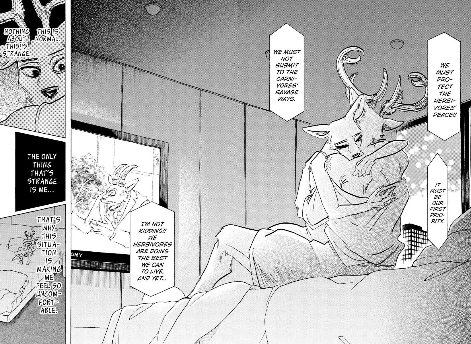 Beastars Manga, Chapter 143 image 010