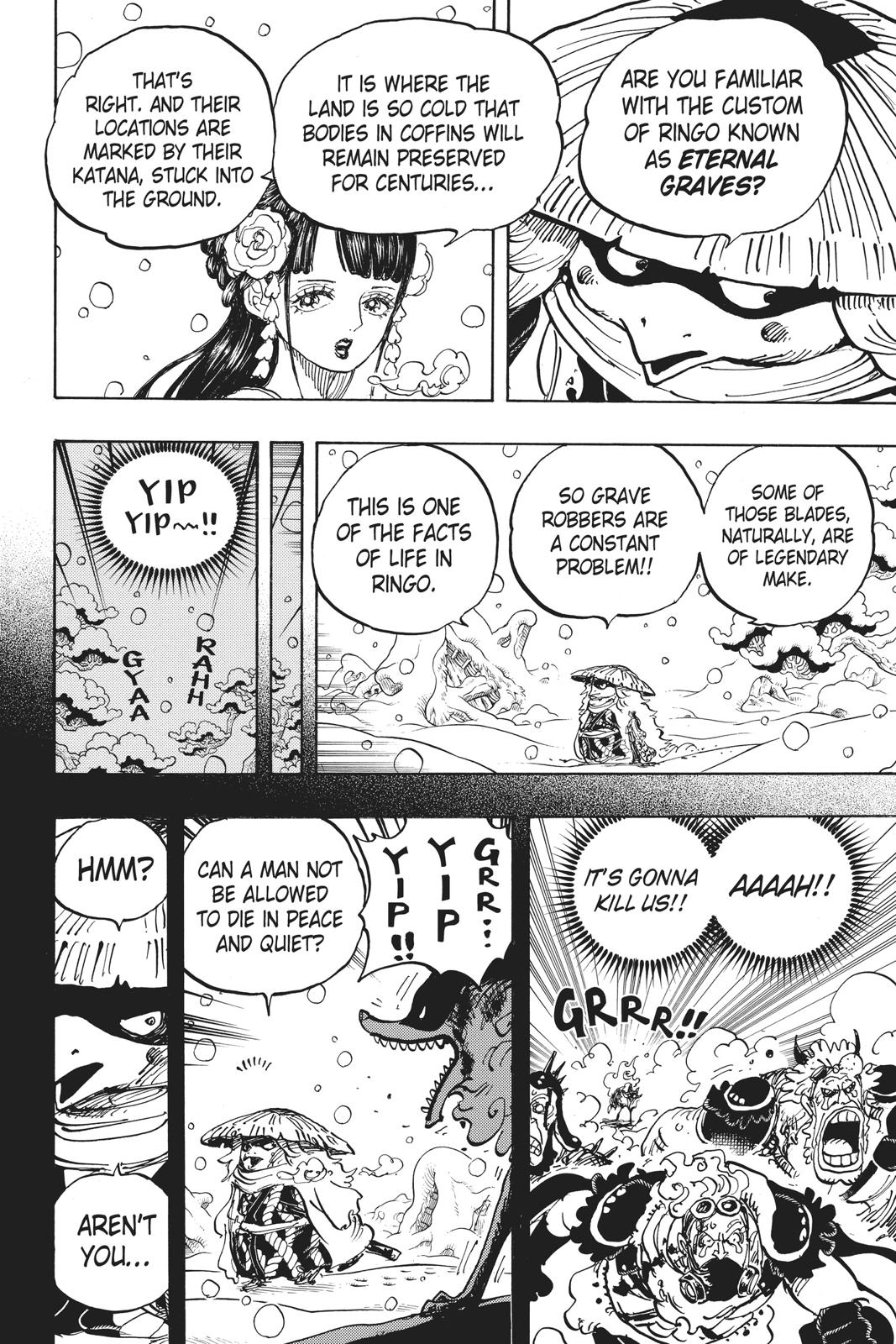 One Piece, Chapter 953 image 006