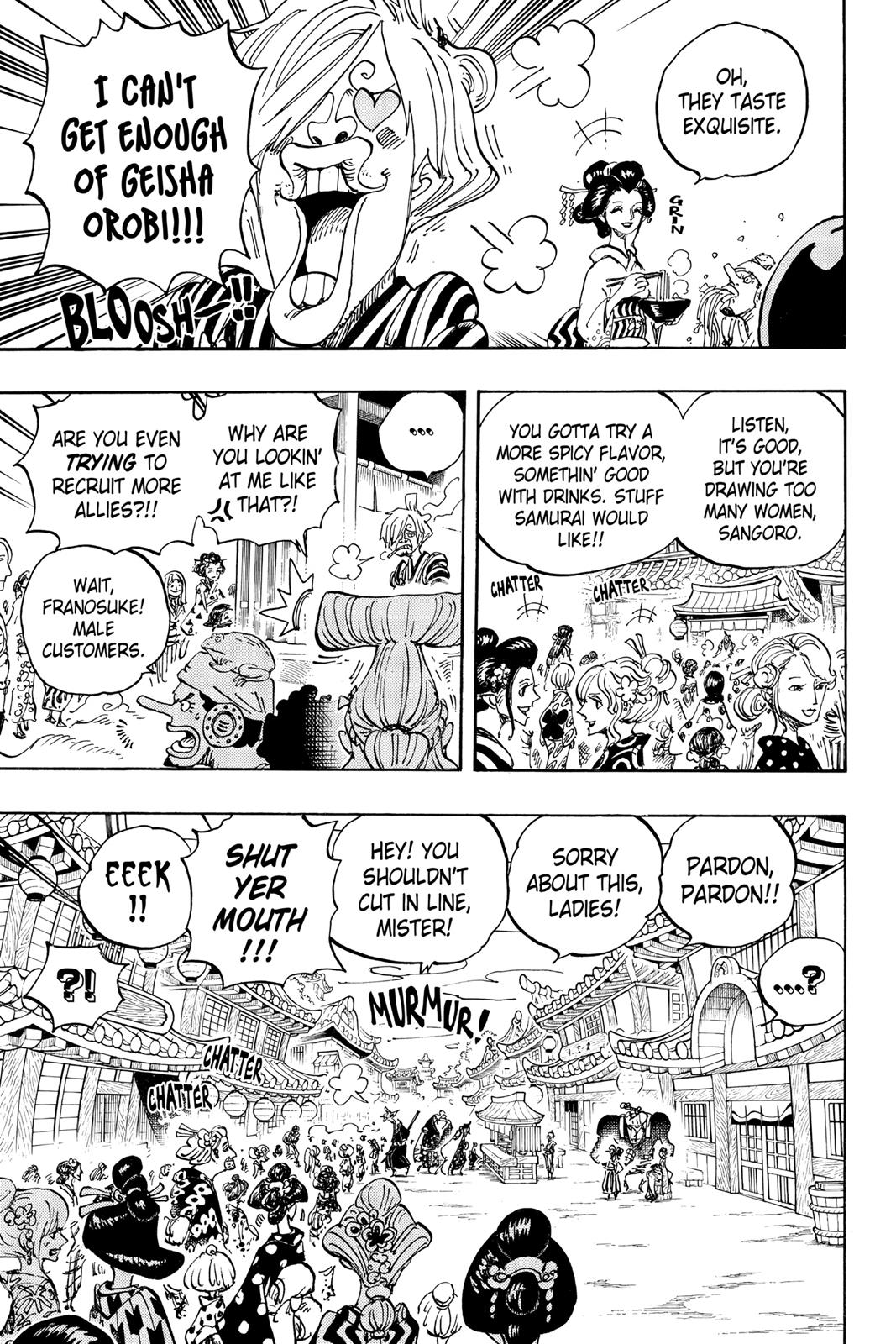 One Piece, Chapter 927 image 003