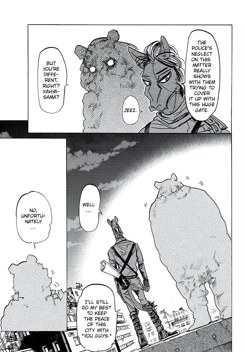 Beastars Manga, Chapter 176 image 003