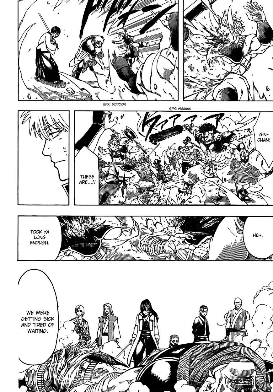 Gintama Chapter, 617 image 011