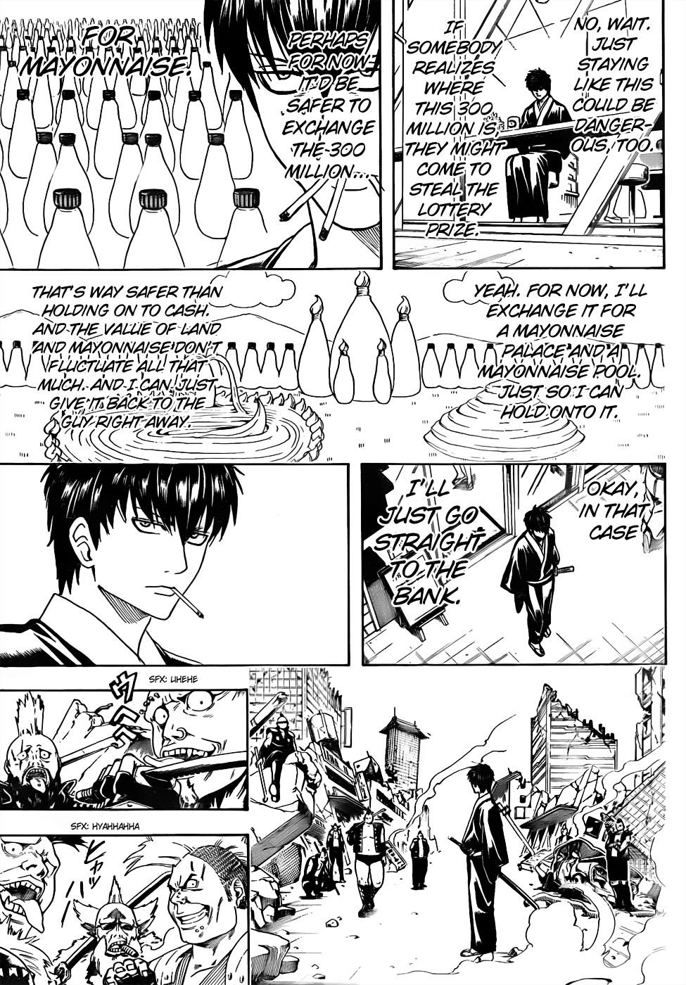 Gintama Chapter, 450 image 009