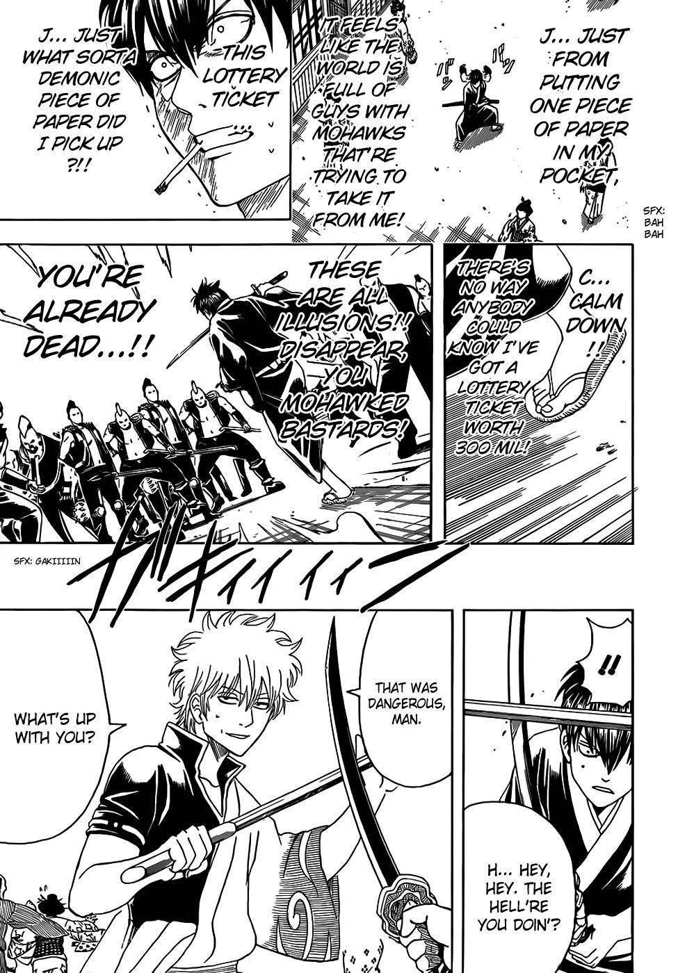 Gintama Chapter, 450 image 011