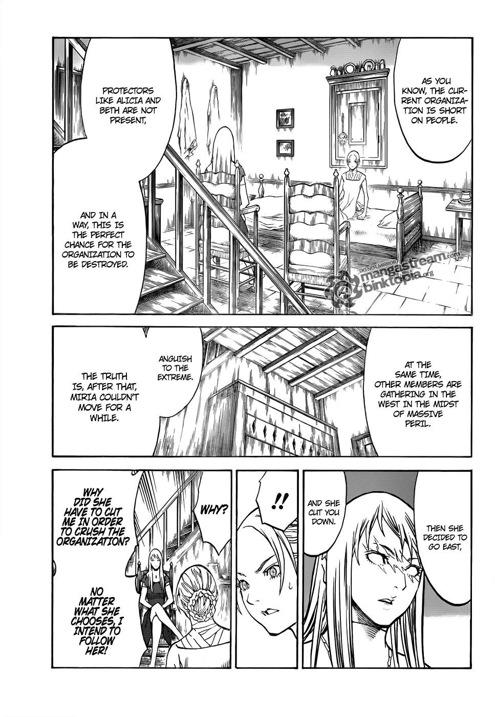Claymore, Chapter 106 image 011