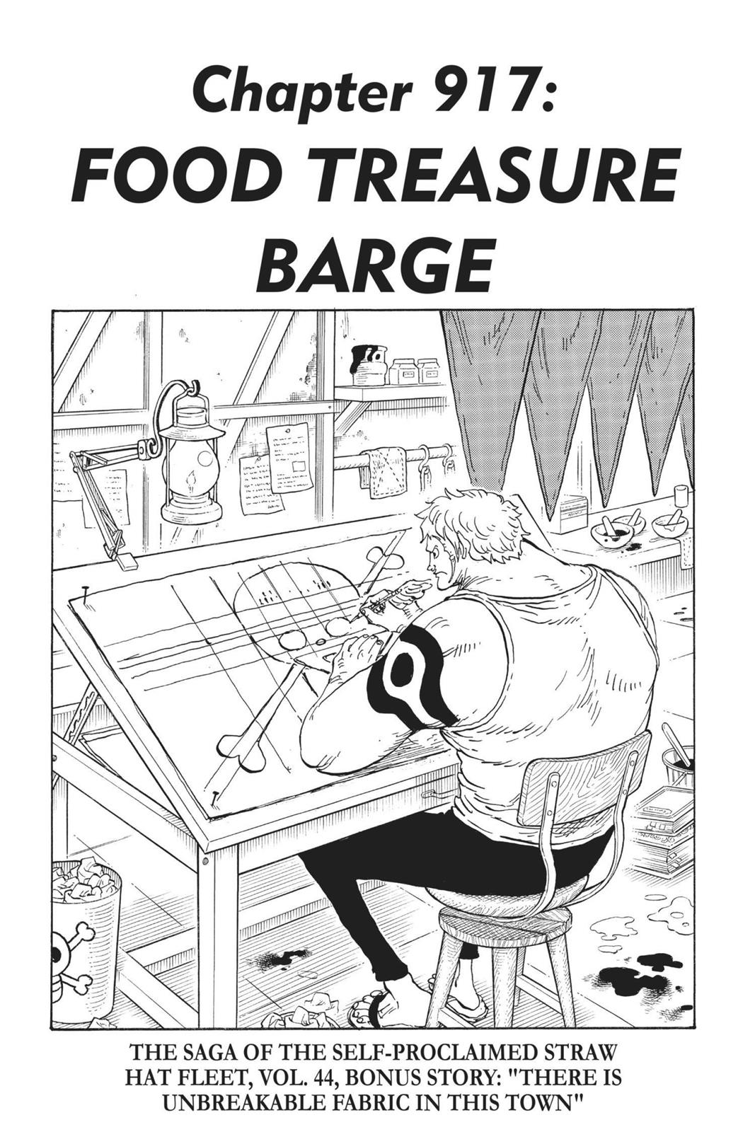 One Piece, Chapter 917 image 001