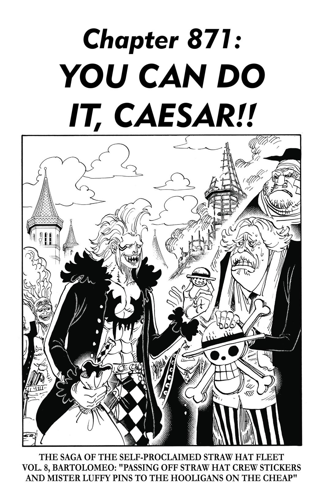 One Piece, Chapter 871 image 001