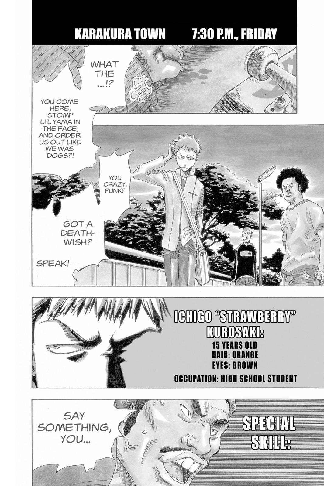 Bleach, Chapter 1 image 008