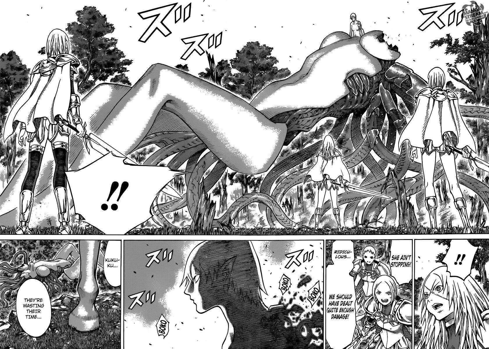 Claymore, Chapter 133 image 016