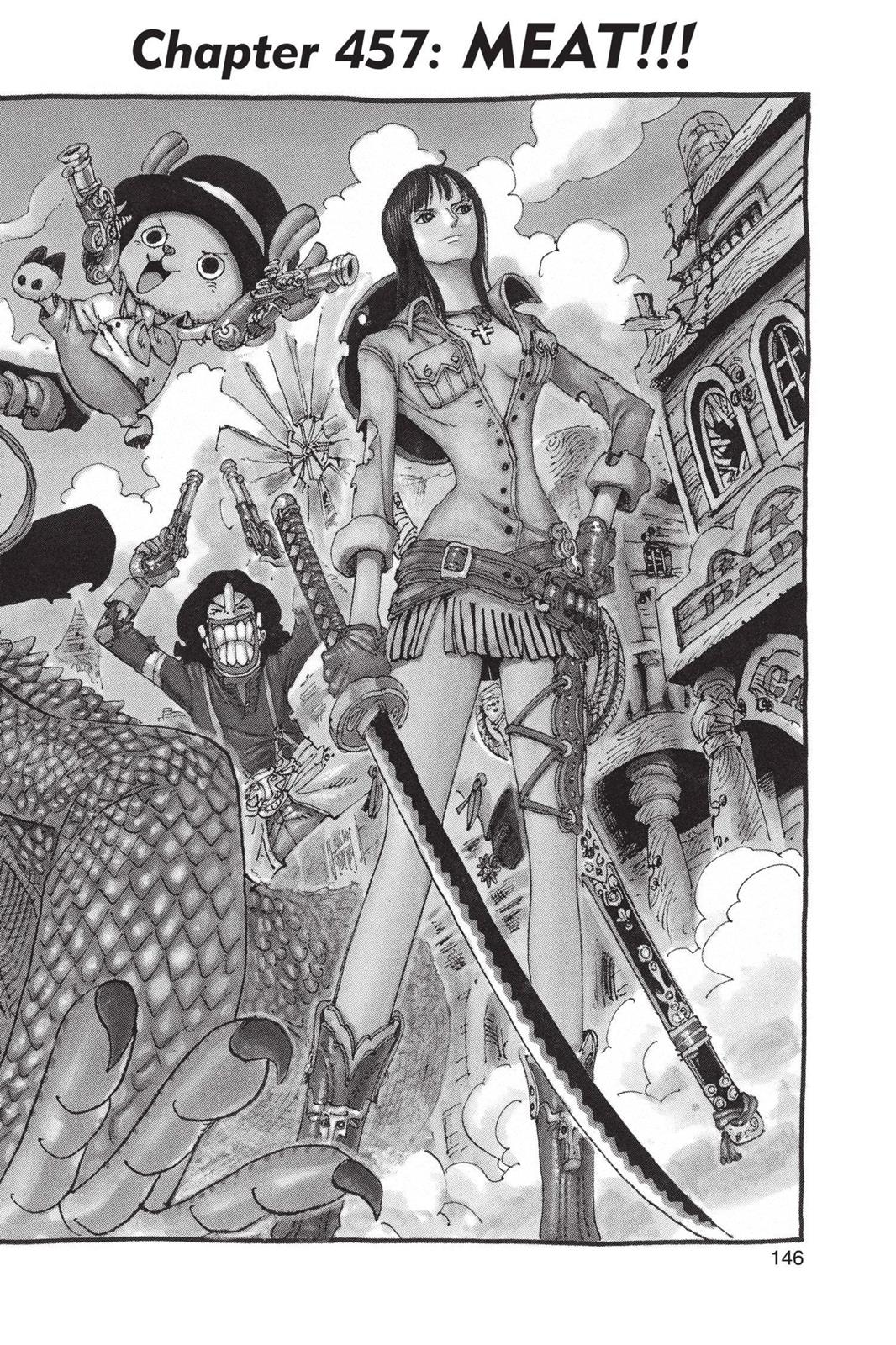 One Piece, Chapter 457 image 001