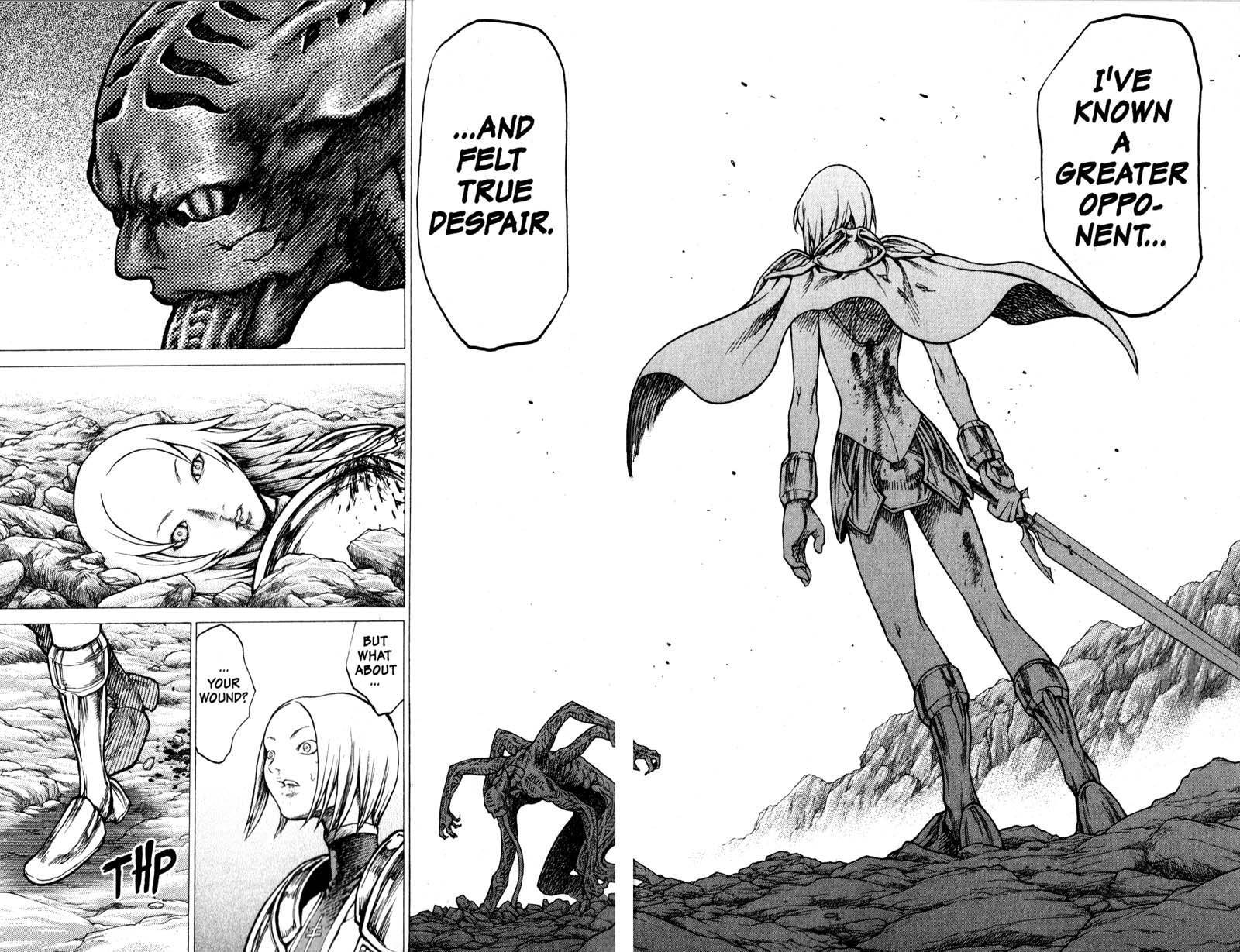 Claymore, Chapter 28 image 031