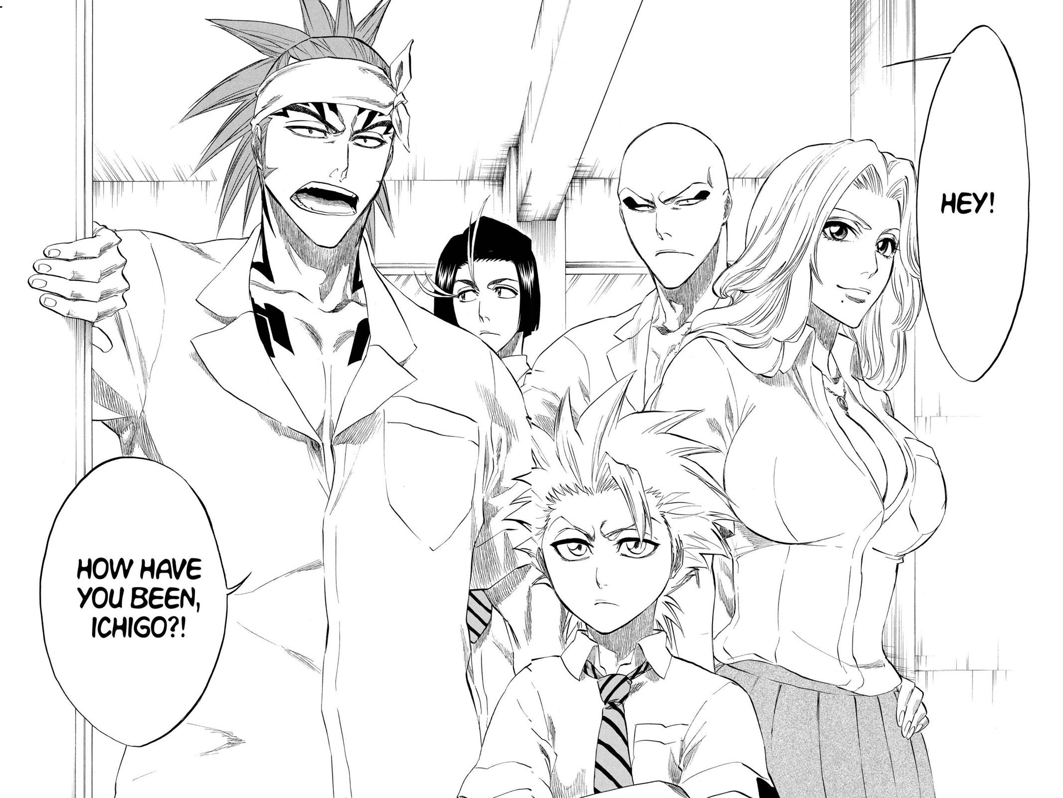 Bleach, Chapter 195 image 012