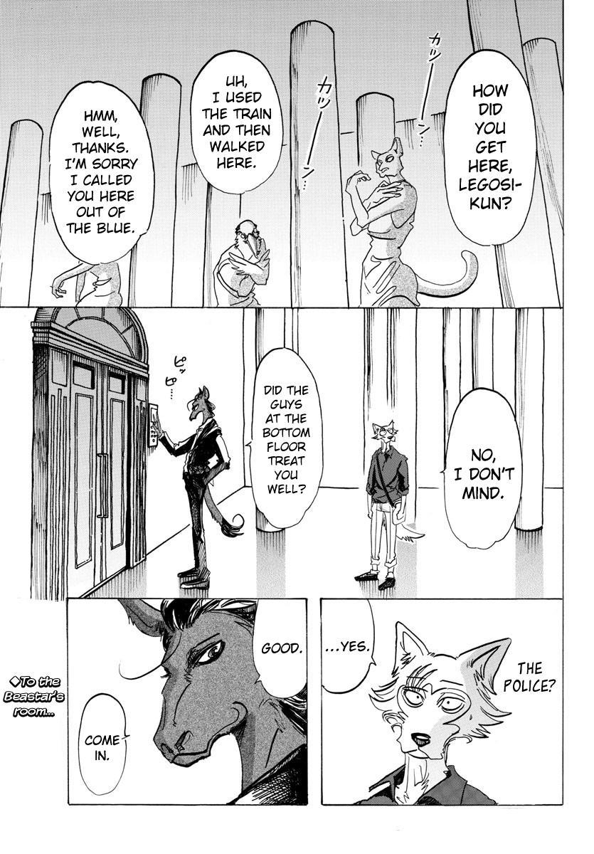 Beastars Manga, Chapter 117 image 001