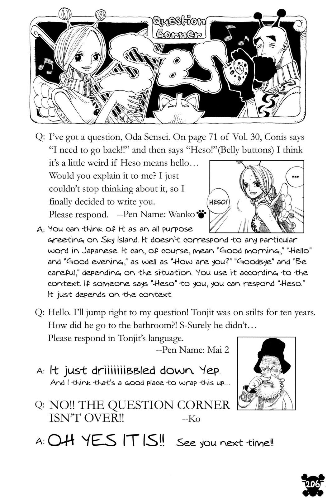 One Piece, Chapter 315 image 020