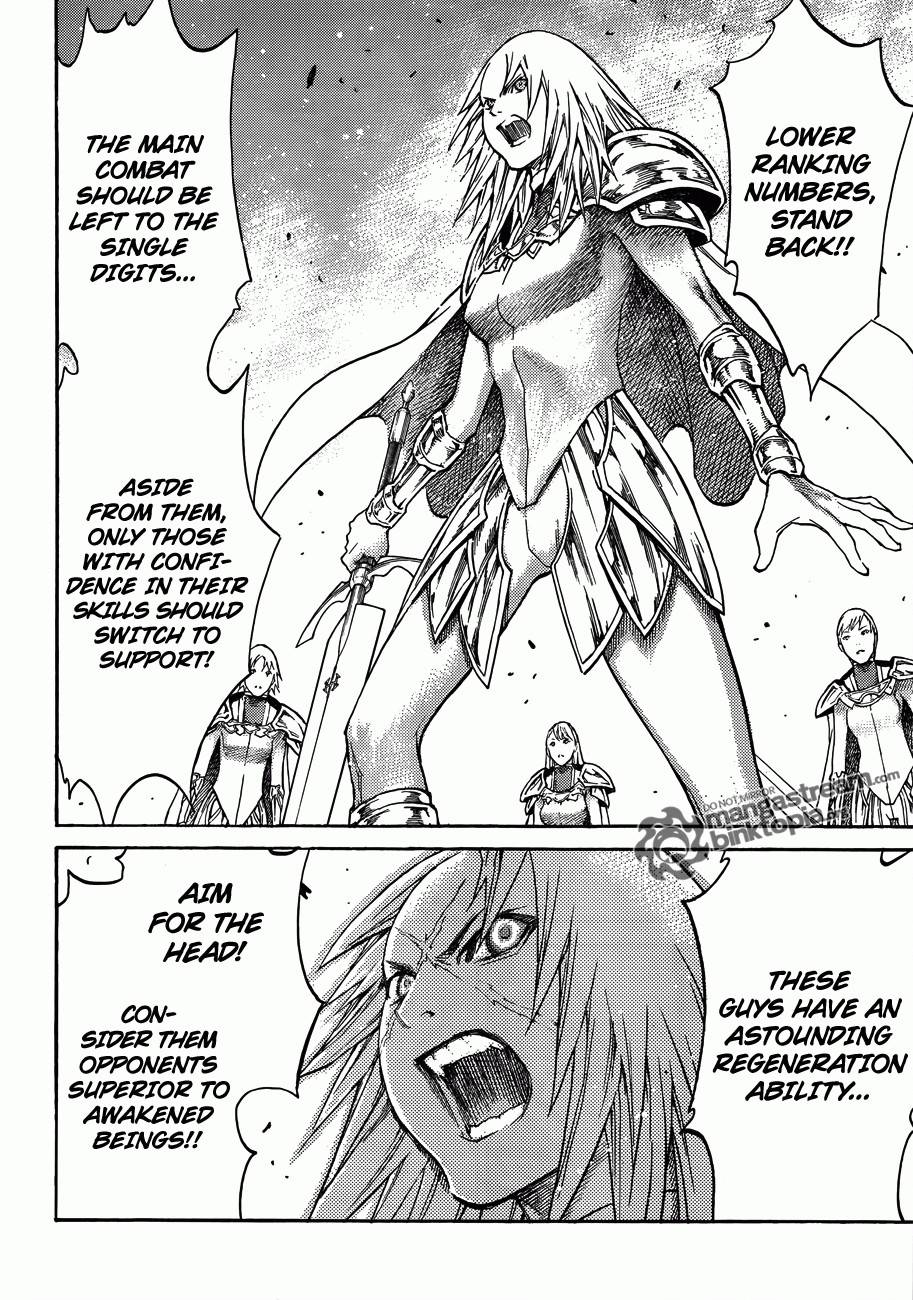 Claymore, Chapter 114 image 025
