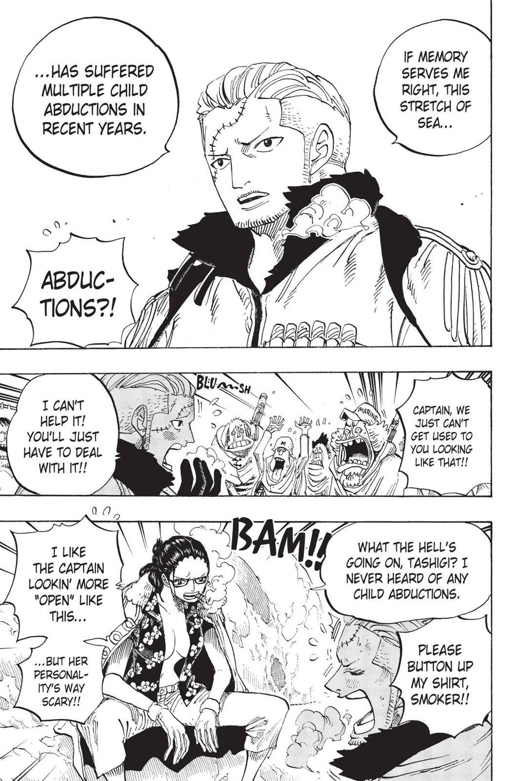 One Piece, Chapter 664 image 004