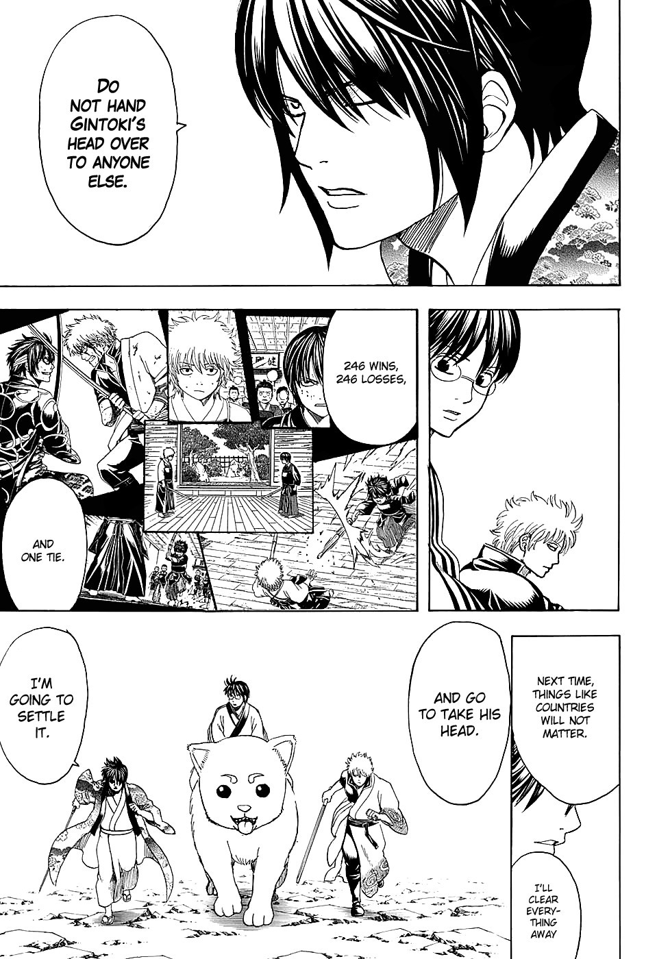Gintama Chapter, 575 image 009