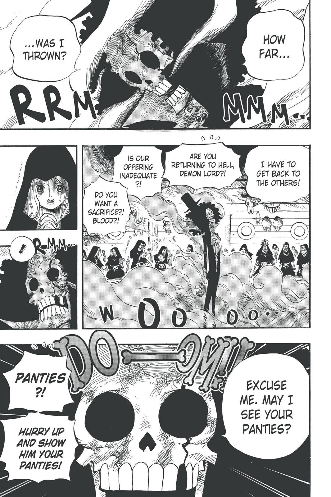 One Piece, Chapter 524 image 005