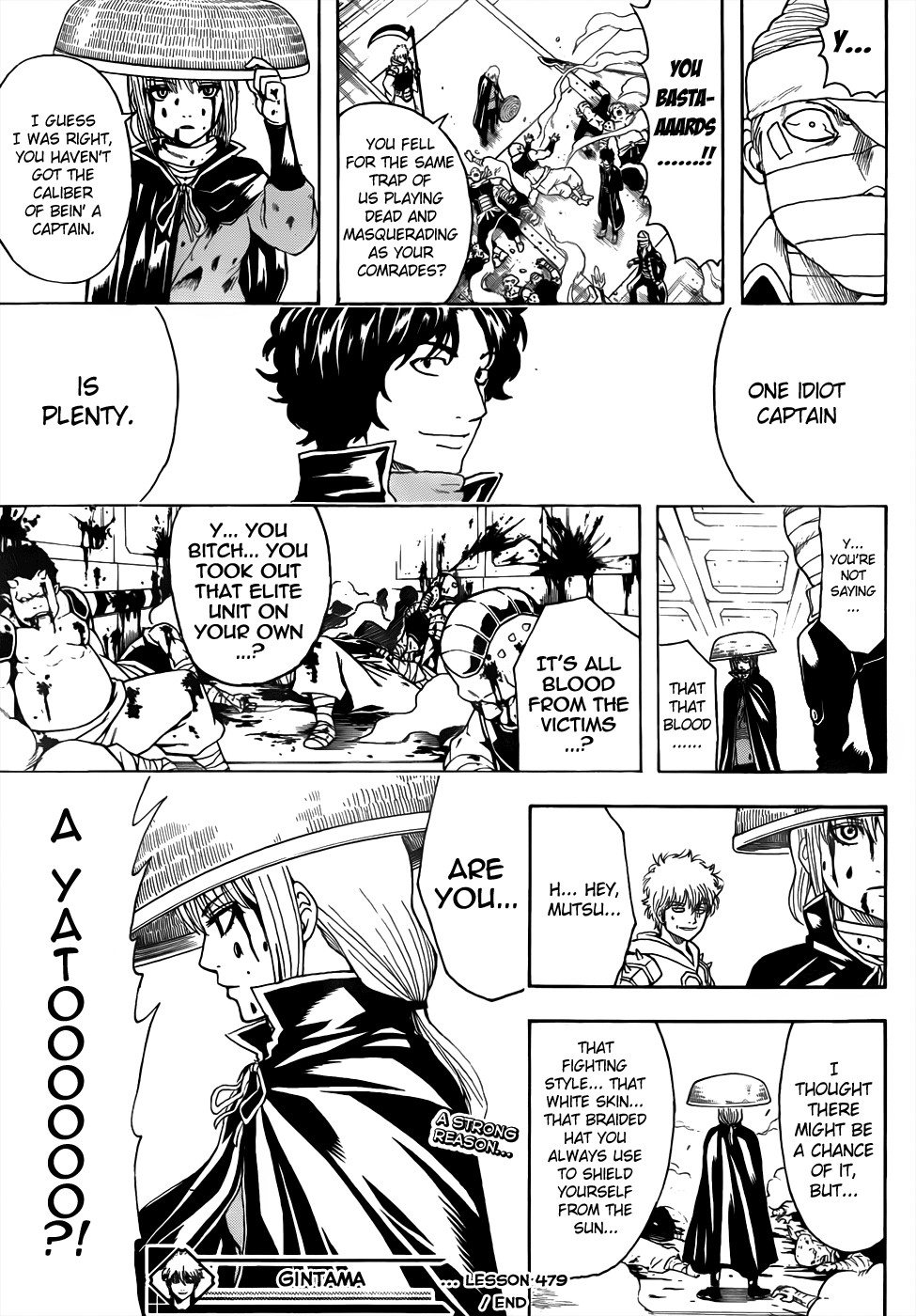 Gintama Chapter, 479 image 017
