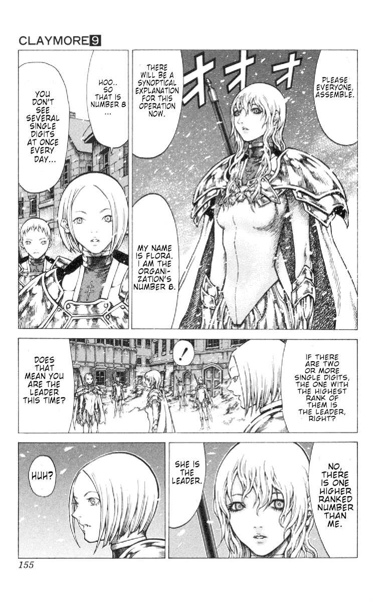 Claymore, Chapter 50 image 027