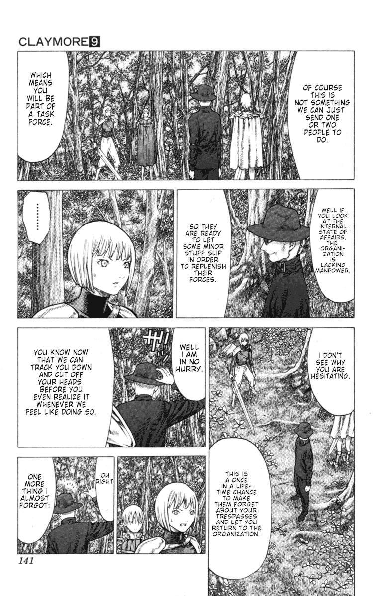 Claymore, Chapter 50 image 014