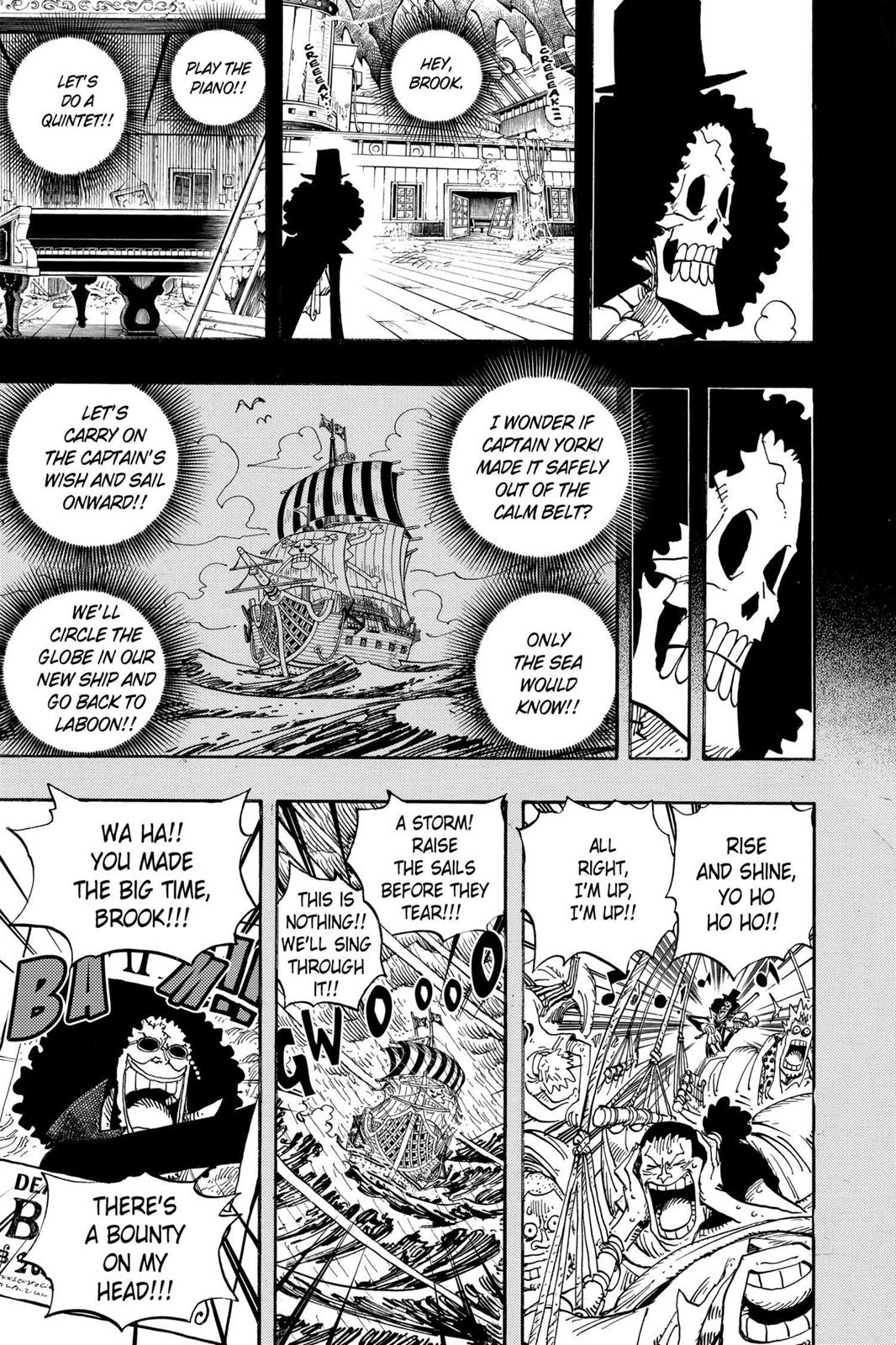 One Piece, Chapter 488 image 005