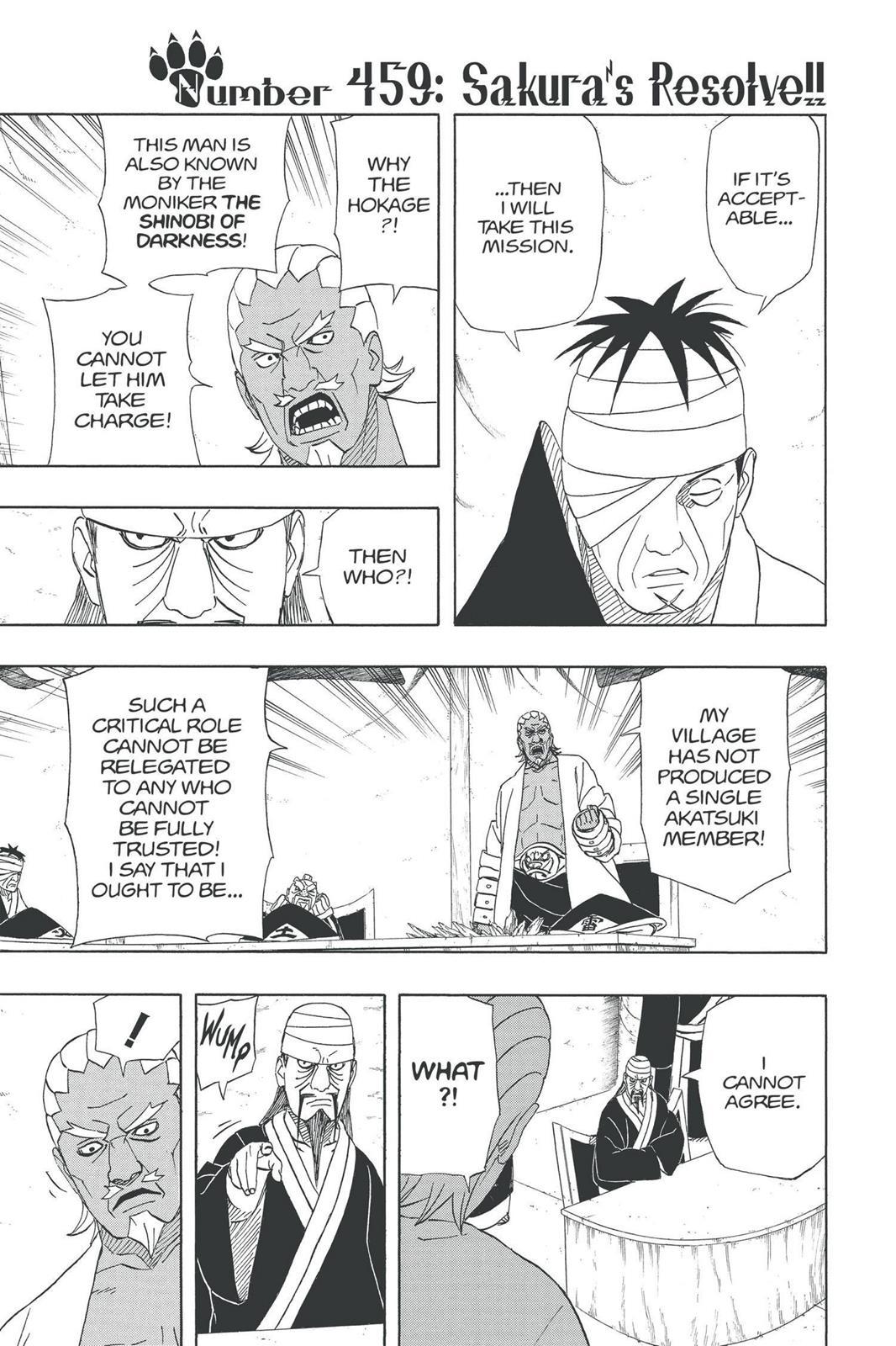 Naruto, Chapter 459 image 001