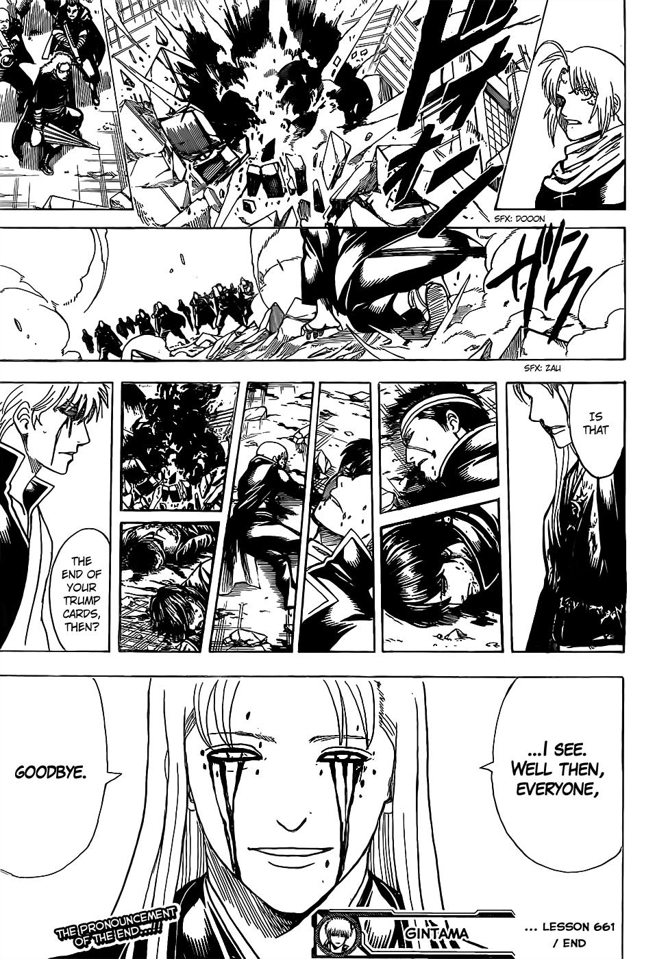 Gintama Chapter, 661 image 019