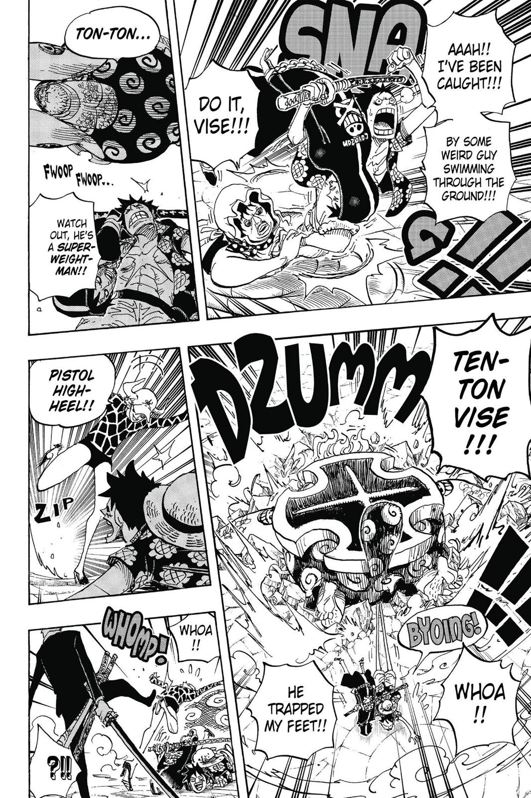 One Piece, Chapter 747 image 014
