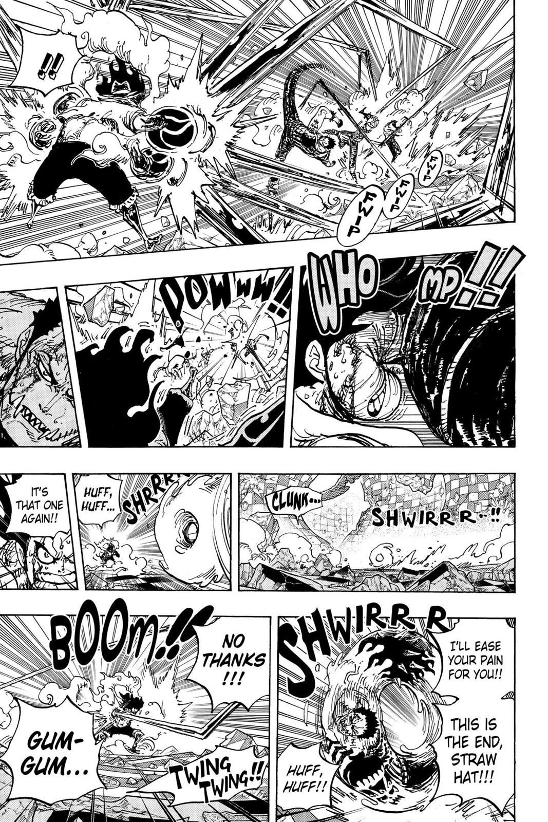 One Piece, Chapter 895 image 014
