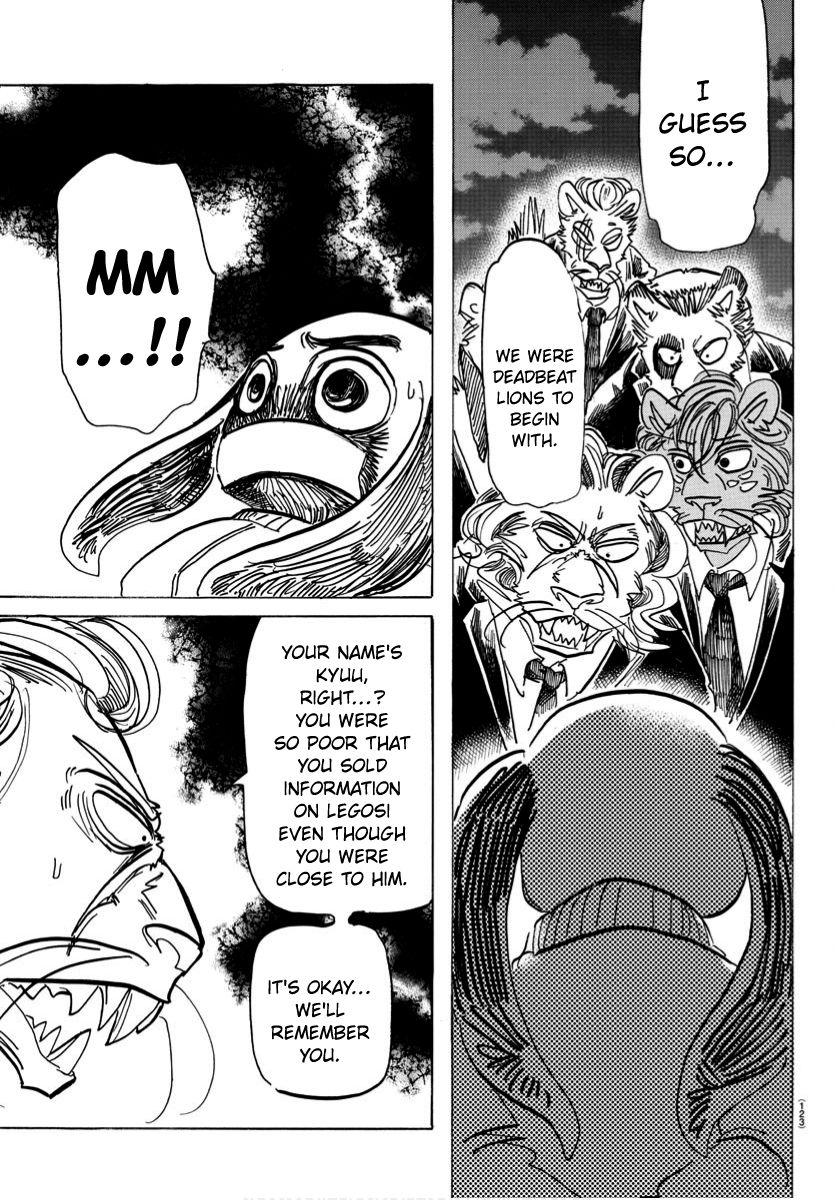 Beastars Manga, Chapter 185 image 009