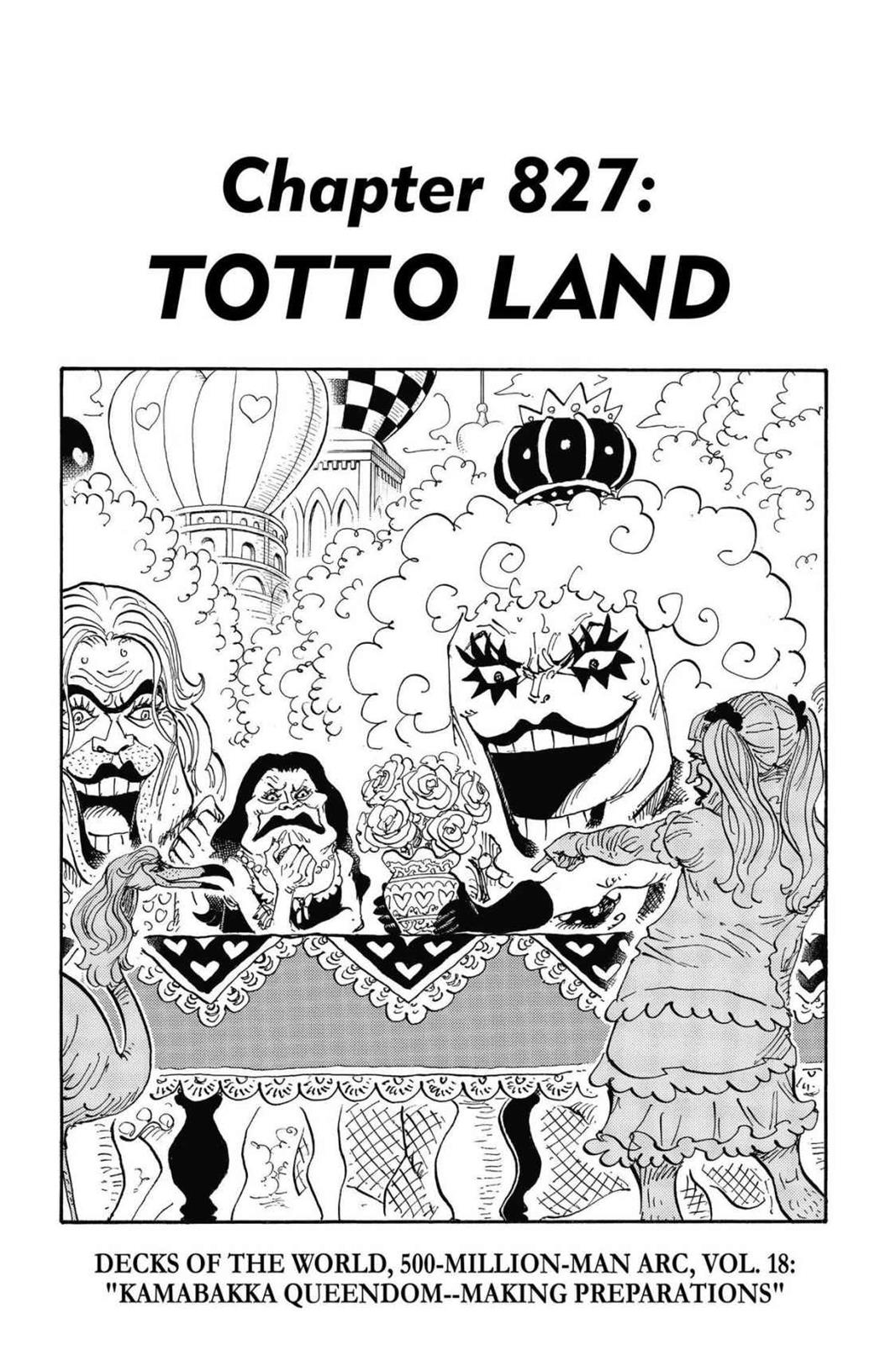 One Piece, Chapter 827 image 001