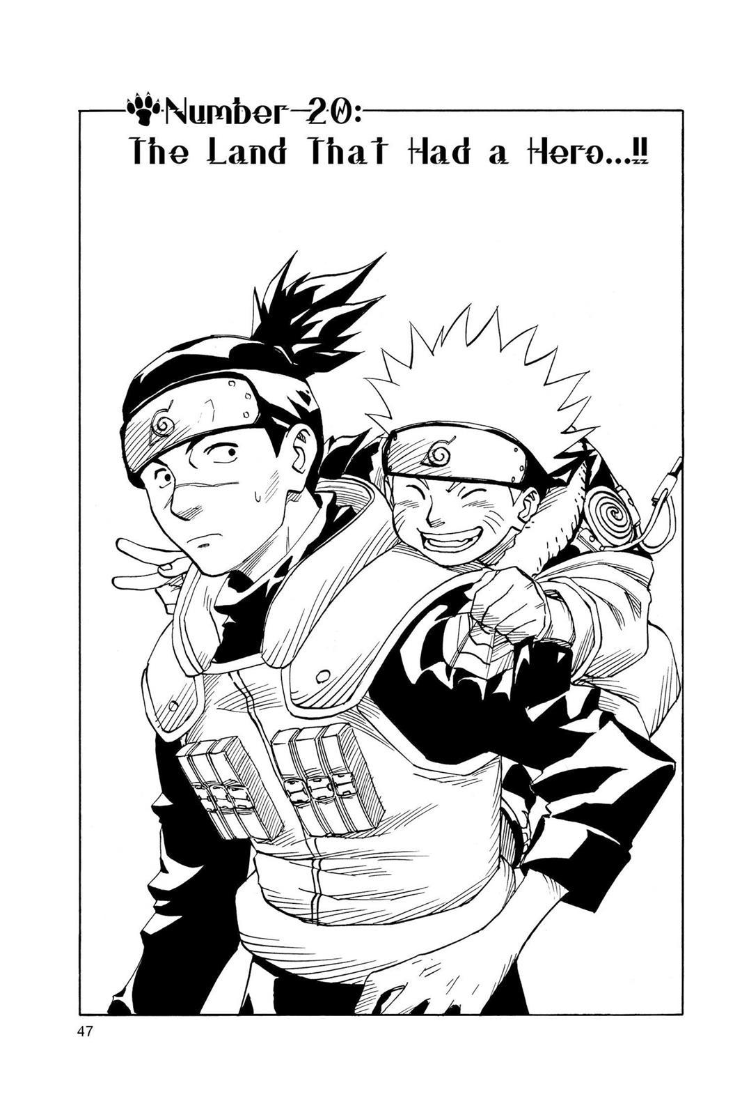 Naruto, Chapter 20 image 001