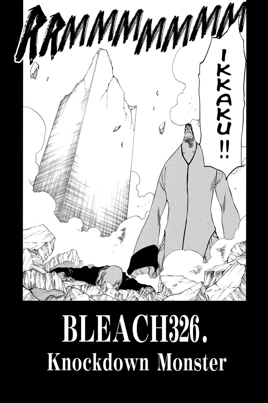 Bleach, Chapter 326 image 002