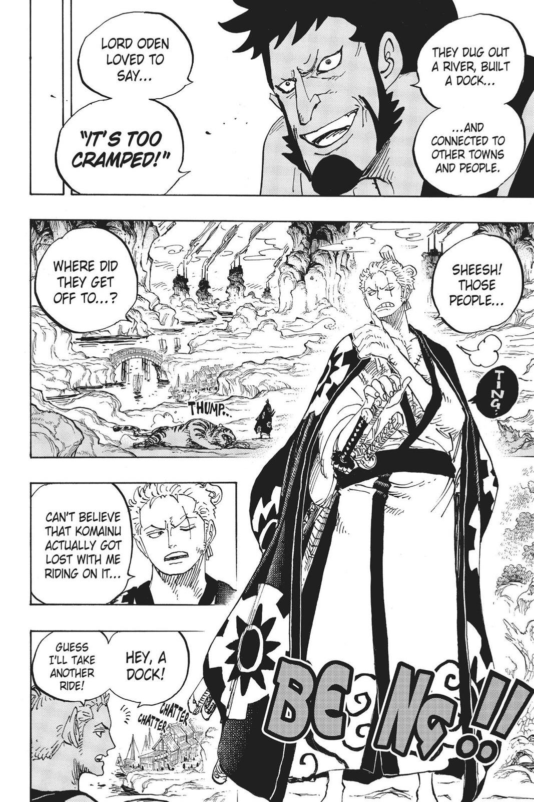 One Piece, Chapter 920 image 004