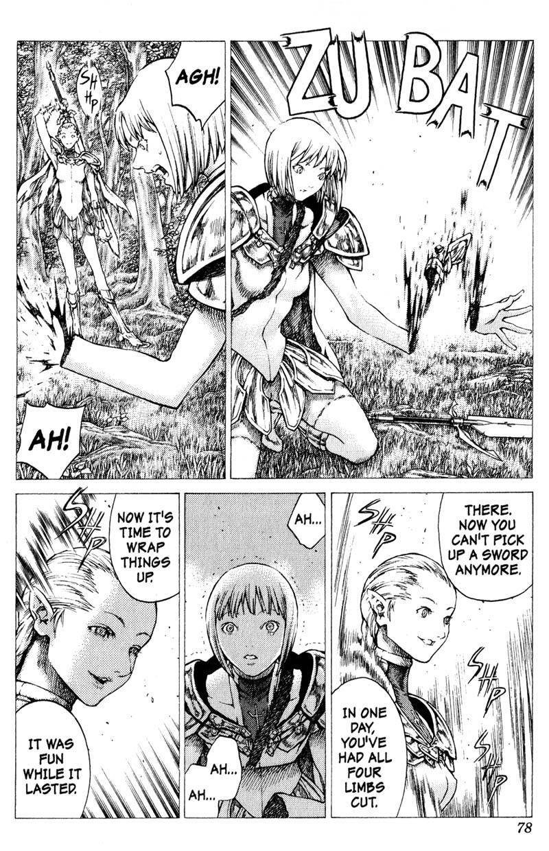 Claymore, Chapter 36 image 012