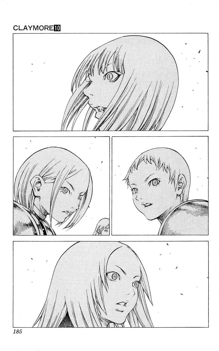 Claymore, Chapter 57 image 027