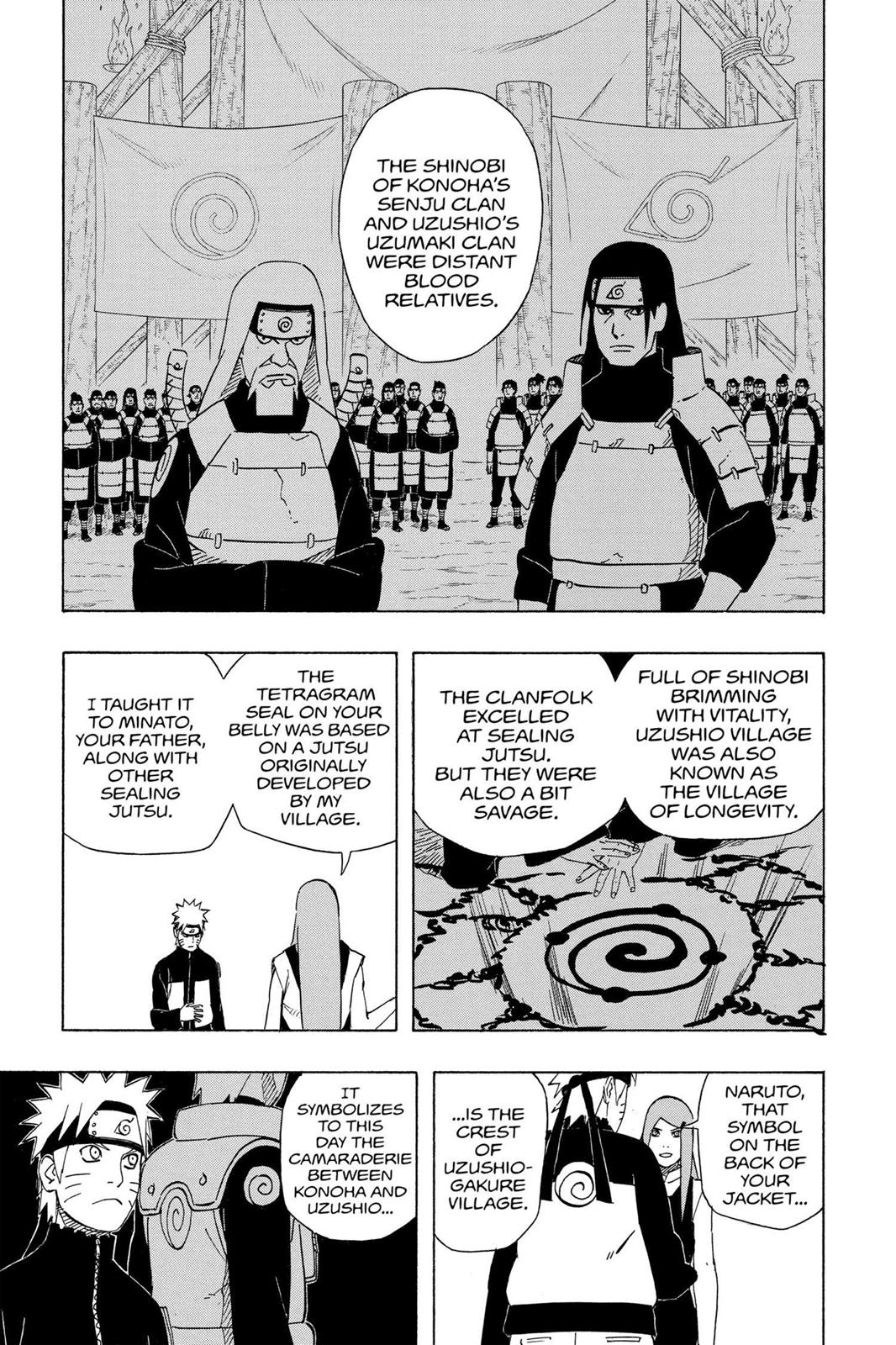 Naruto, Chapter 500 image 003