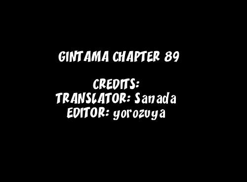 Gintama Chapter, 89 image 001