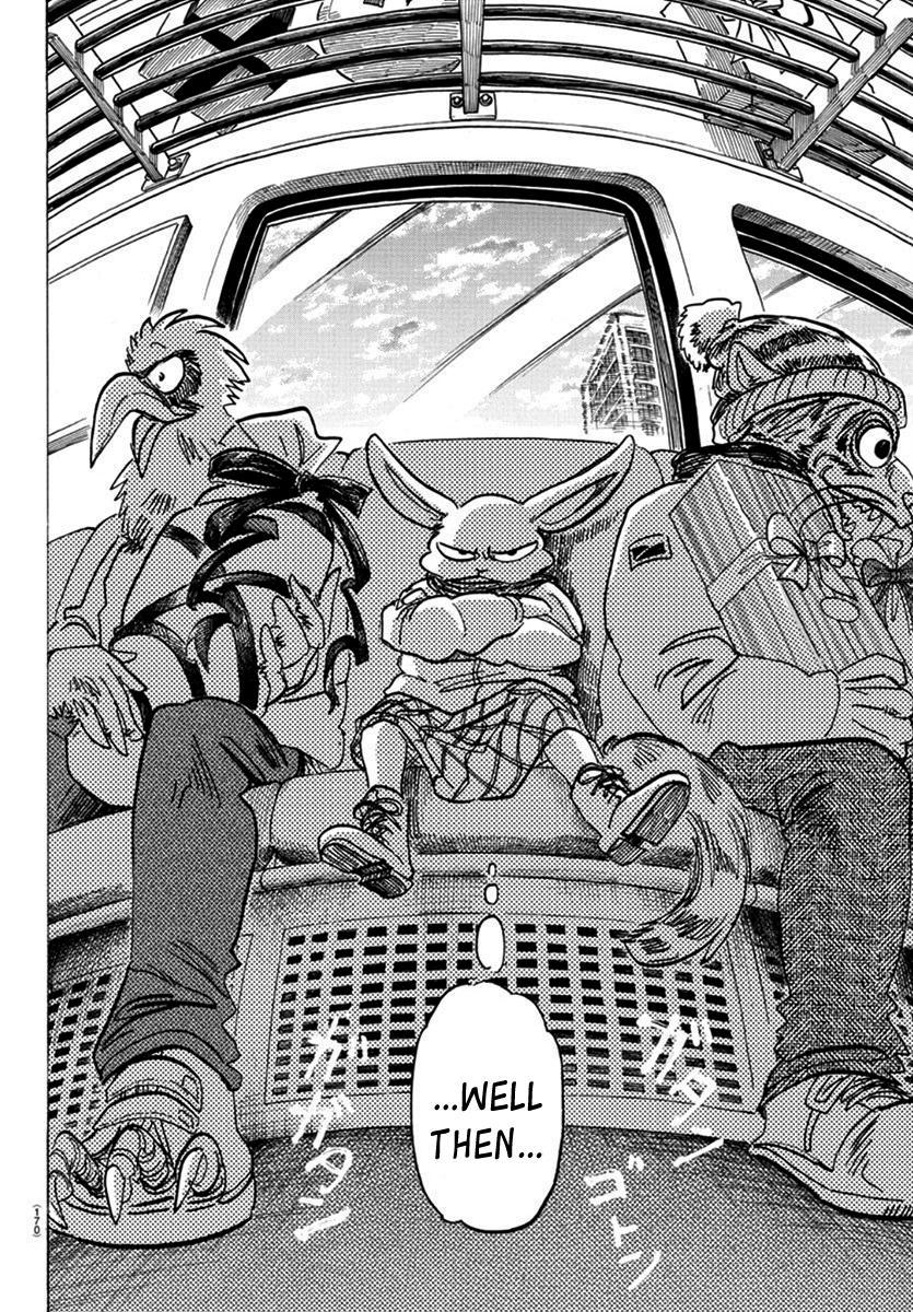 Beastars Manga, Chapter 172 image 008