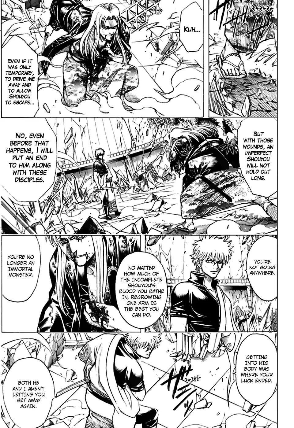 Gintama Chapter, 703 image 018