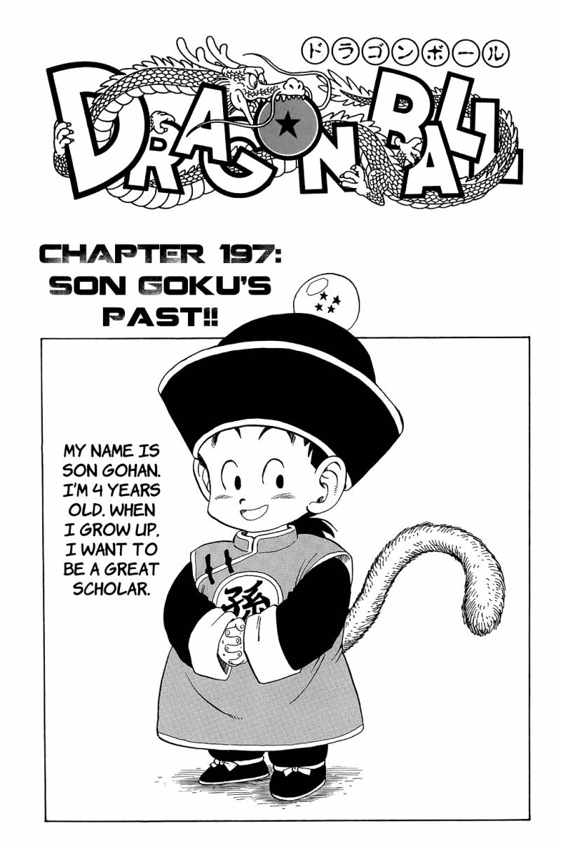 Dragon Ball, Chapter 197 image 001