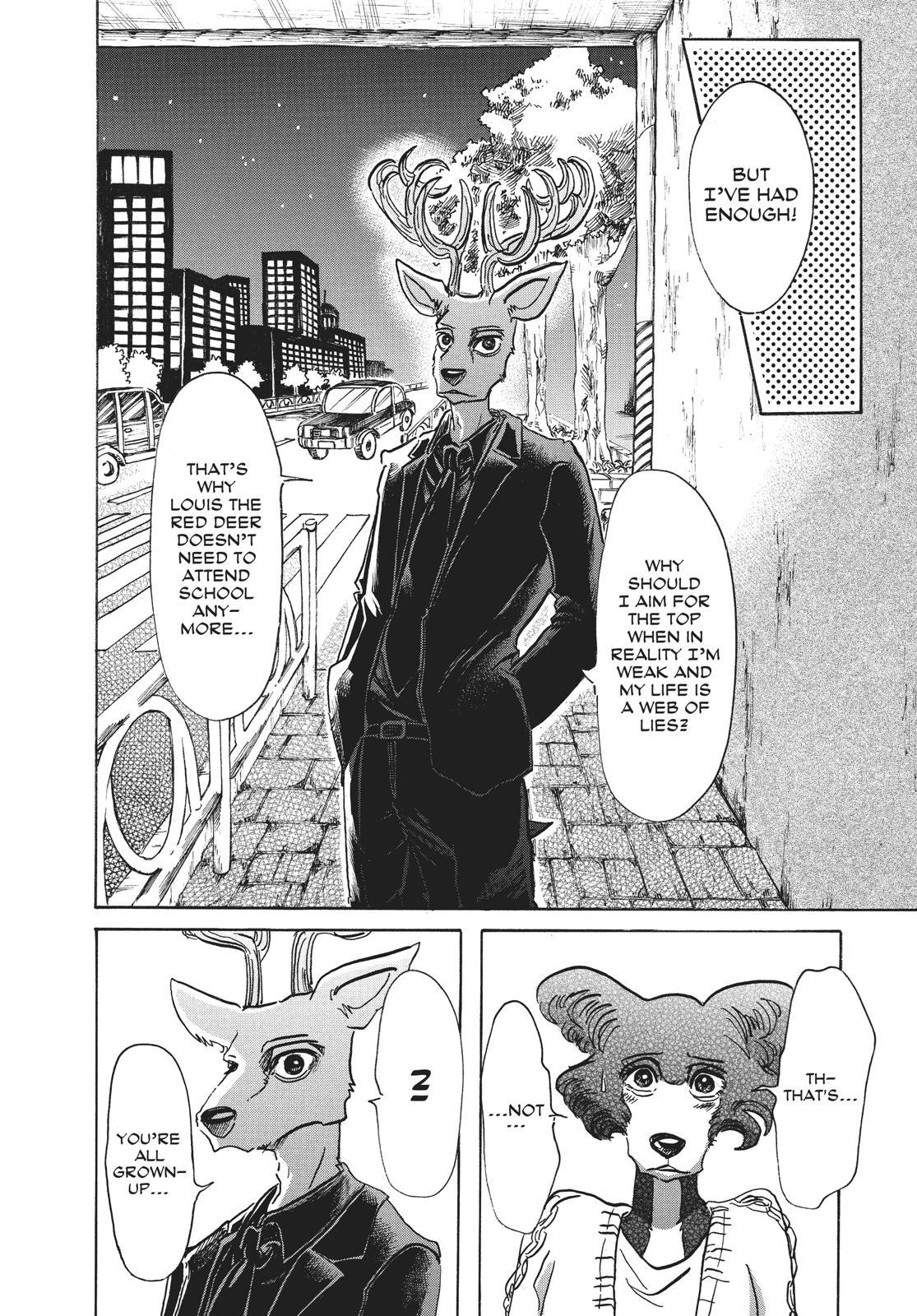 Beastars Manga, Chapter 57 image 009