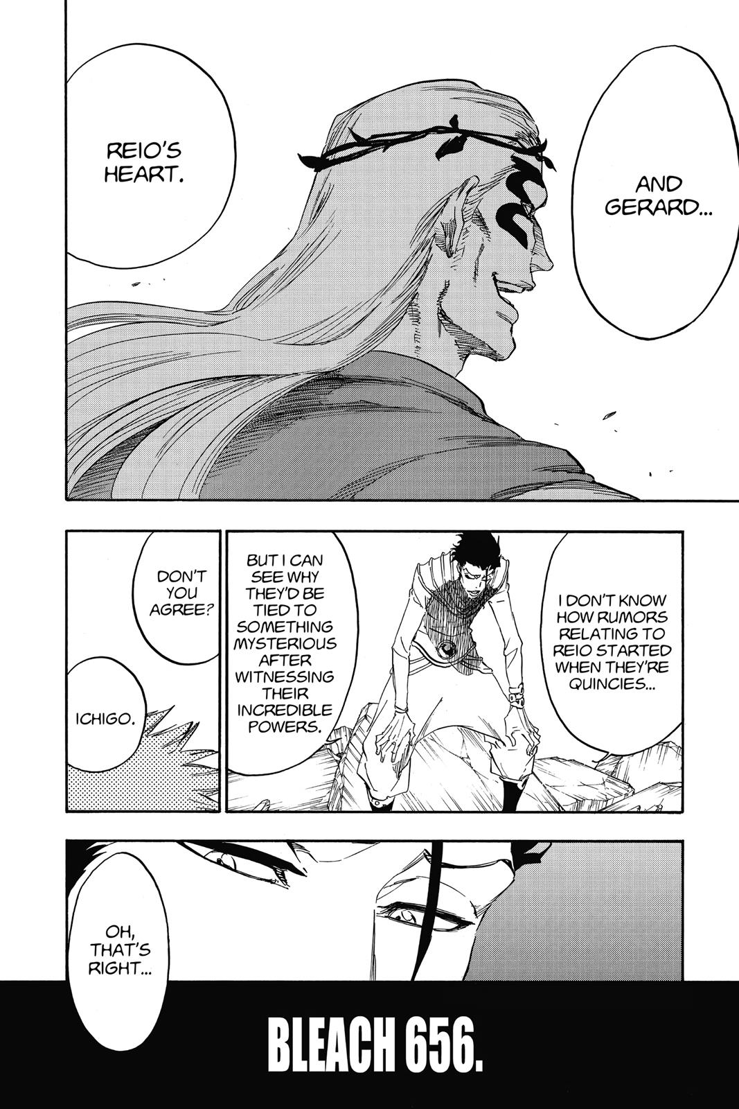 Bleach, Chapter 656 image 004
