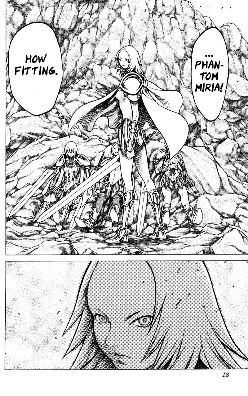 Claymore, Chapter 28 image 017