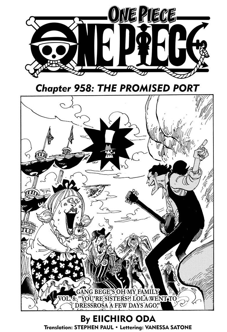 One Piece, Chapter 958 image 001