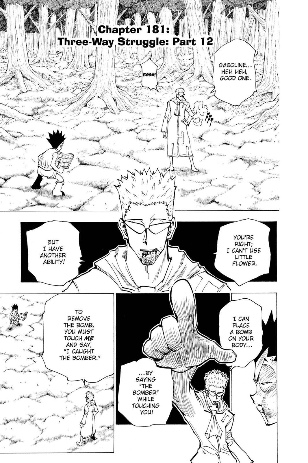 Hunter X Hunter, Chapter 181 image 001