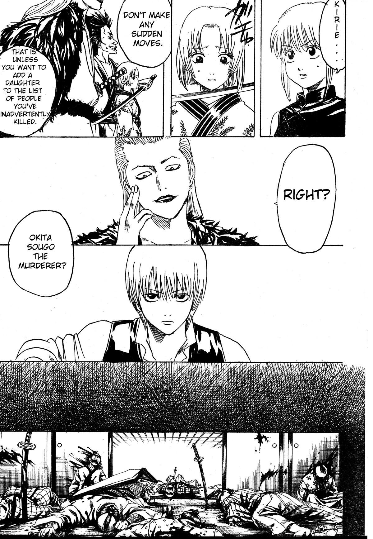Gintama Chapter, 271 image 003
