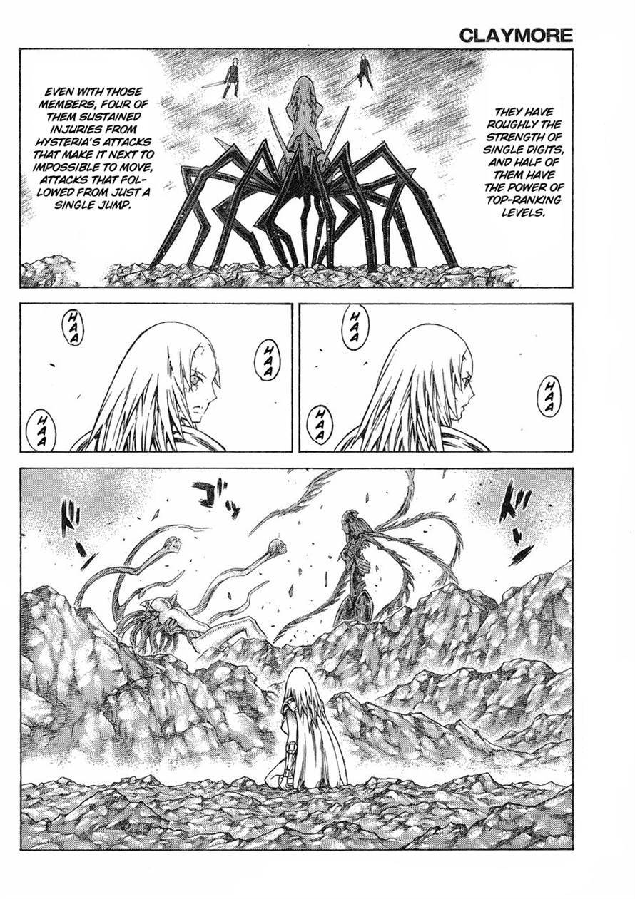 Claymore, Chapter 123 image 008
