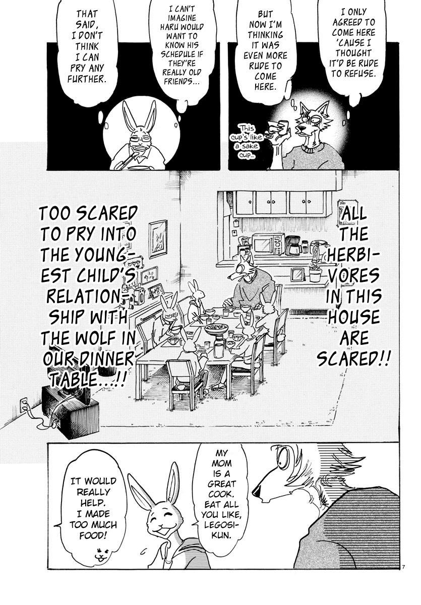 Beastars Manga, Chapter 125 image 007