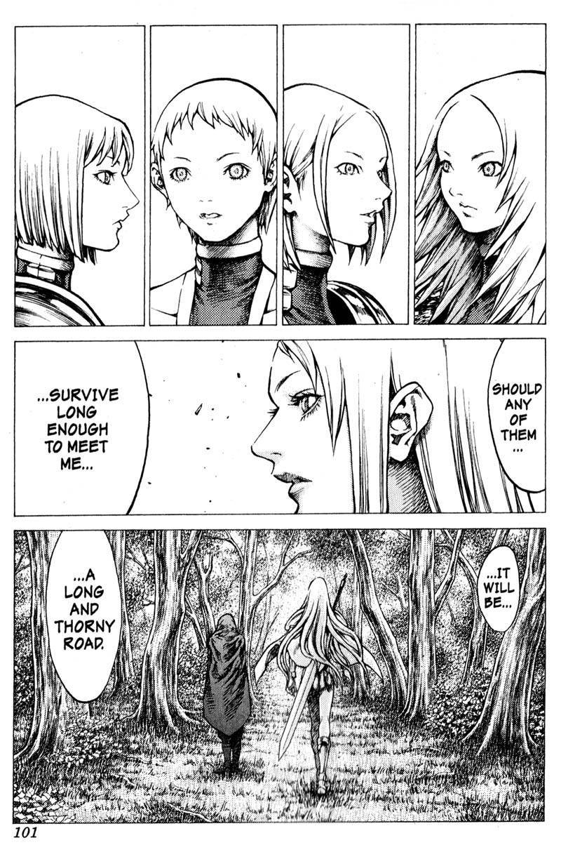 Claymore, Chapter 30 image 032